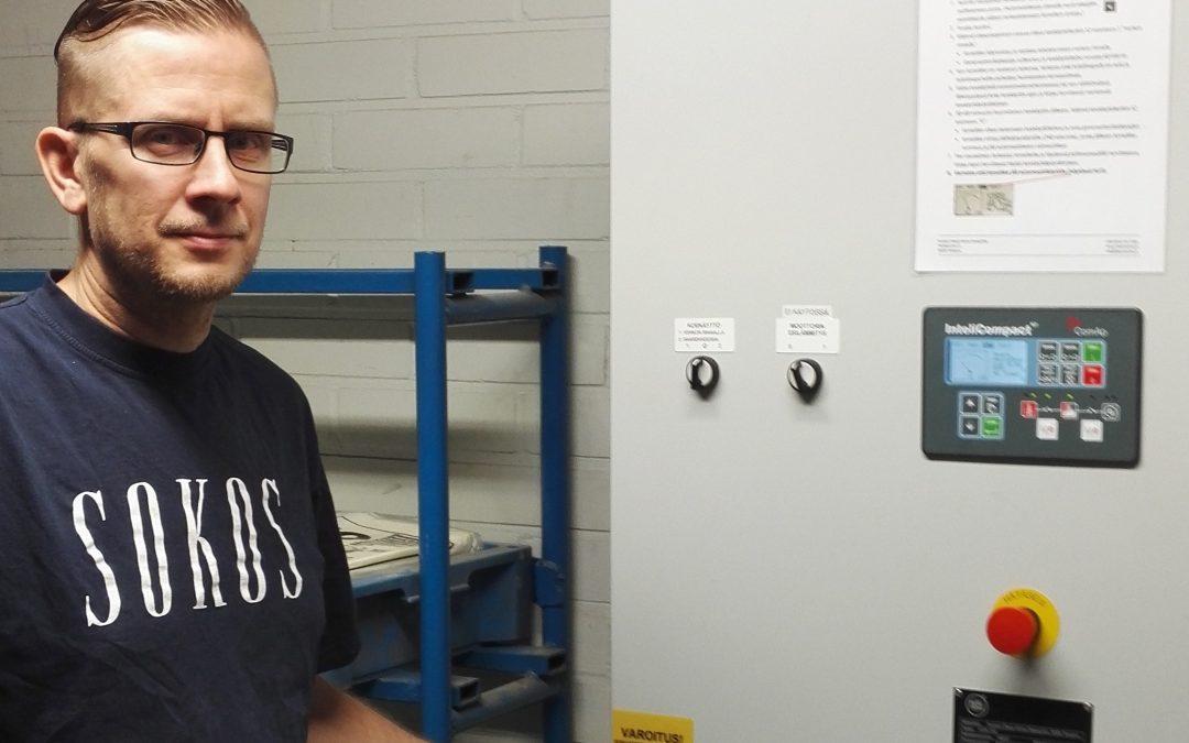 Varavoima varmistaa, että toiminta jatkuu turvallisesti sähkökatkon sattuessa